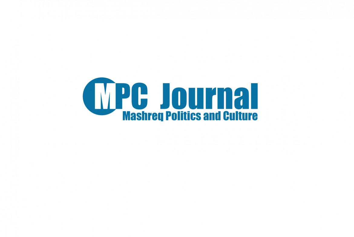 MPC JOURNAL - Mashreq Politics and Culture, Hakim Khatib