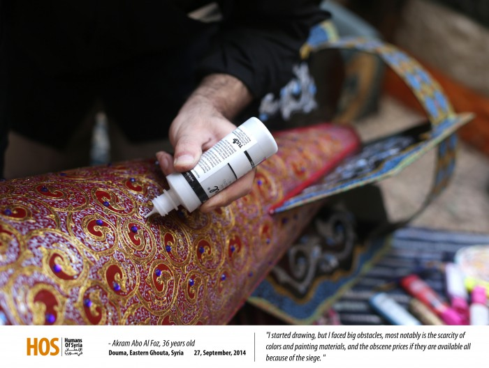 Painting on bullets, MPC Journal