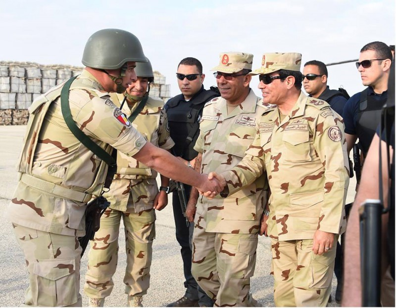President of Egypt Al-Sisi in military uniform – © Image: alsisiofficial on Instagram