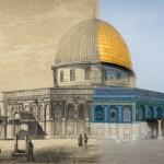 صور من السابق والآن لمدينة القدس