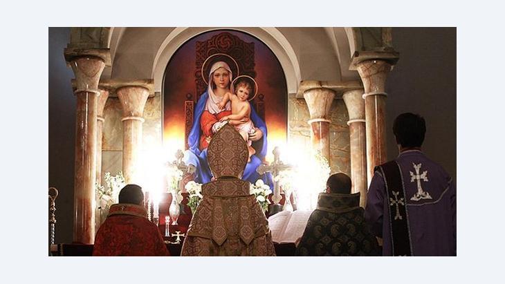 كنيسة سركيس في طهران - © الصورة مهر