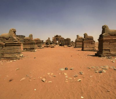 The ancient city of Meroe. © Photo: Mohamed Nureldin Abdallah, Reuters