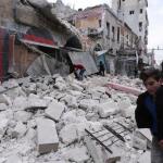 200 غارة جوية استهدفت مدنيين في إدلب في سوريا