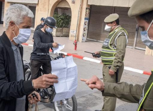 اعتقل المغرب 4300 شخص في نهاية الأسبوع