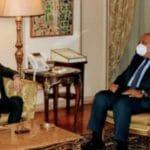 وزير الخارجية المصري يناقش القضية الفلسطينية مع نظيره الأردني