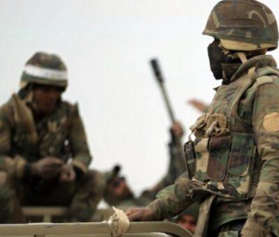 الاستخبارات العسكرية العراقية تعتقل إرهابيين