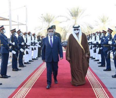 الإمارات تبحث التعاون العسكري مع الجانب العراقي
