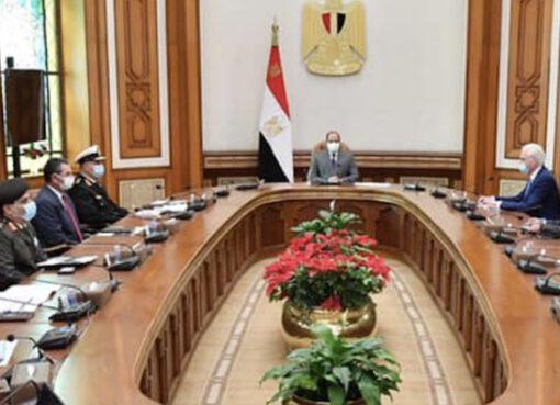 الرئيس المصري يبحث نقل تكنولوجيا بناء السفن إلى مصر مع الجانب الألماني