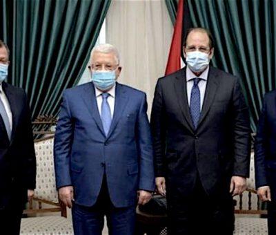 عباس يناقش المصالحة الوطنية مع رئيسي المخابرات المصرية والأردنية