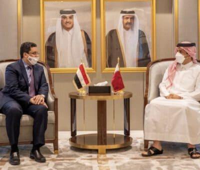 عودة العلاقات الثنائية بين قطر واليمن بعد انقطاعها في 2017
