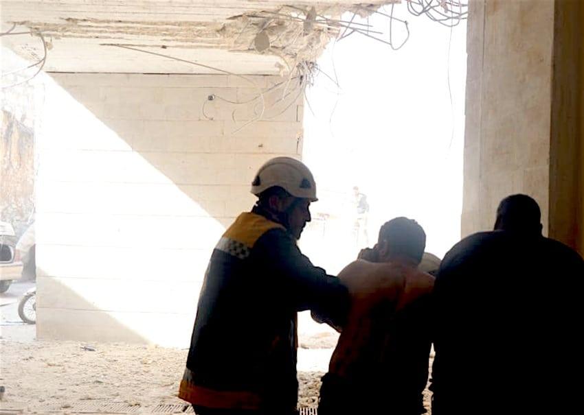 سوريا - قتلى وجرحى بهجوم لقوات تابعة للأسد على مستشفى في إدلب