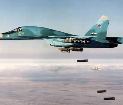 روسيا تعلن مقتل نحو 200 مسلح بضربات جوية في وسط سوريا