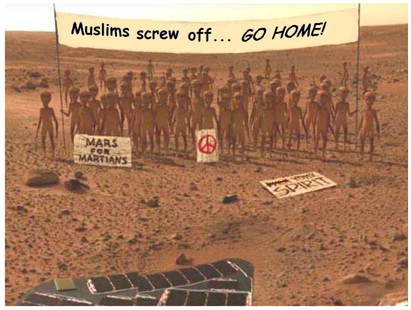 Muslim clergymen rule mars colony as Un-Islamic