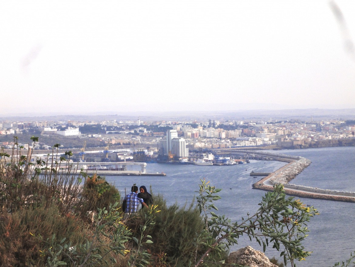 Skyline of safi port
