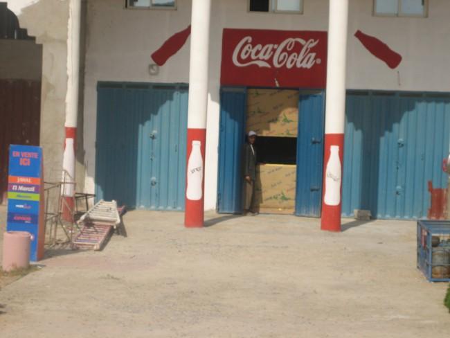 Coca cola in Safi, Morocco