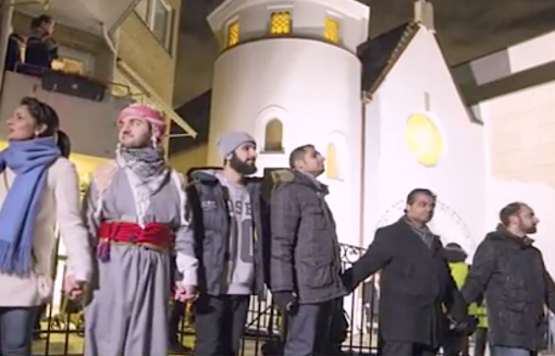 Norwegian Muslims Formed a Ring of Peace Around a Synagogue to Support Jews, Muslims Politics and Culture, MPC Journal, mpcmena