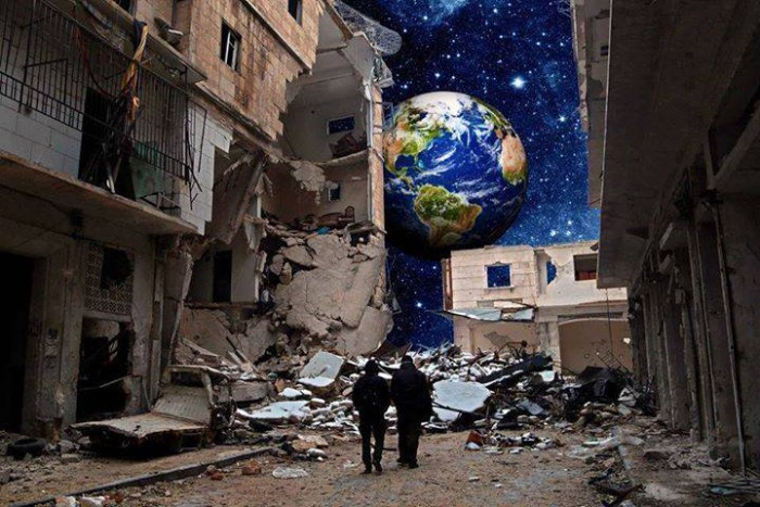 From Planet Syria to Earth, Is Anyone Out There?