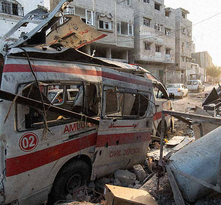 615 medical workers have been killed and 242 field hospitals have been destroyed by barrel bombs