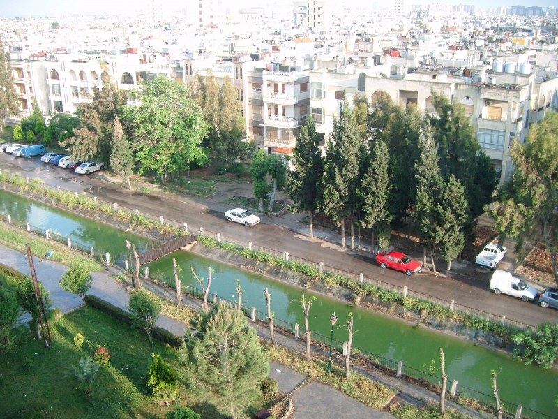 Syrian city Homs before the armed conflict – © Voice · Voices of the Syrian Refugees in Jordan