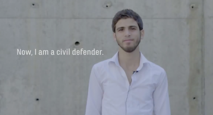 civil defender in Syria, MPC Journal