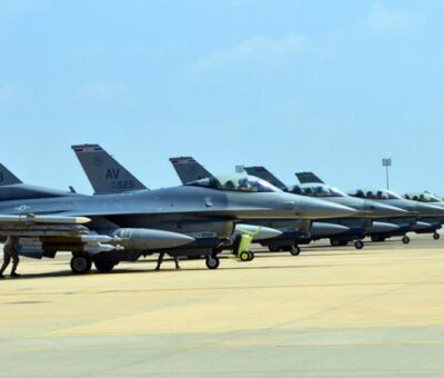 US Air Force F-16 fighters deployed to Incirlik AB, Turkey – © Image: USAF. MPC Journal