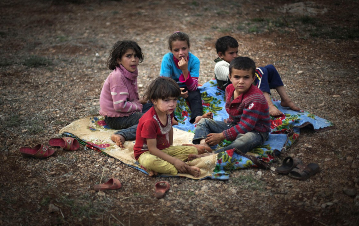 Syrian children Syrian children