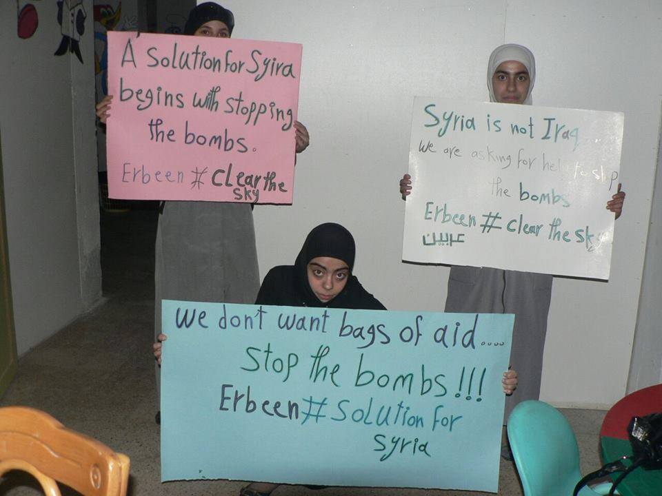 Join Syria's Peace Movement and Tell Your Politicians to Stop the Bombs, Join Syria's Peace Movement and Tell Your Politicians to Stop the Bombs