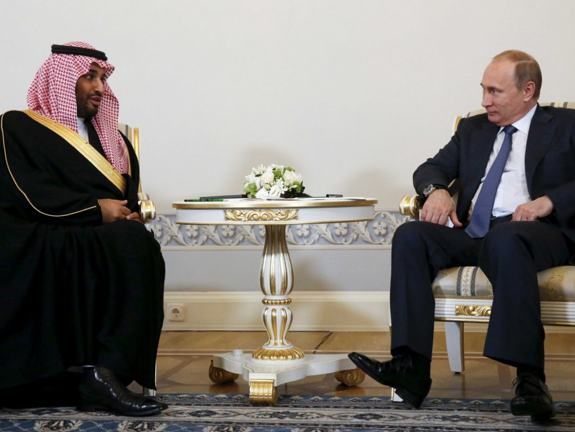 saudi-arabia-russia-putin - Salman - Deputy Crown Prince and Vladimir Putin (Photo SPA) - MPC Journal