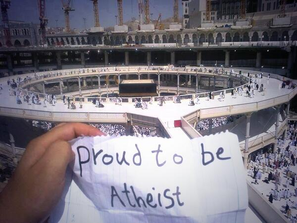proud to be atheist - Facts About Atheism in the Middle East May Surprise You - MPC Journal