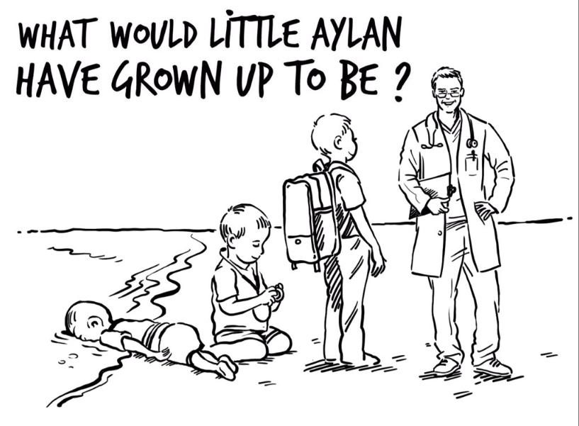 Queen of Jordan Responds to Charlie Hebdo's Cartoon, Queen of Jordan Responds to Charlie Hebdo's Cartoon