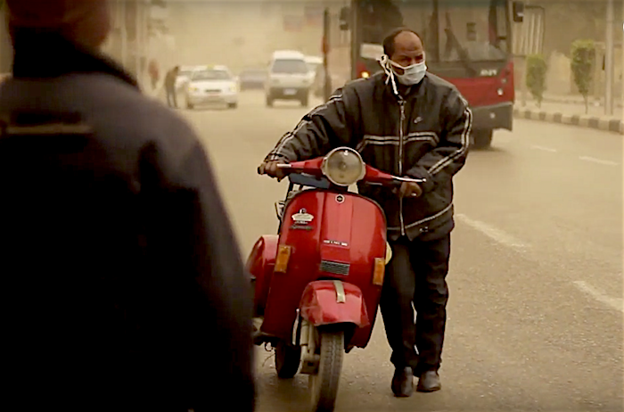 Egyptians' High Spirits - Egyptians challenge dusty weather with a smile and a cup of tea. Although the video dates back to February 2015, it tells us much about Egyptians' high spirits. The video was recorded in February 2015, when a sandstorm hit Egypt preventing dozens of ships to cross the Suez Canal. A sandstorm is made up of accumulated dust transported from the far reaches of the Sahara desert in North Africa. It is worth mentioning that sandstorms are common in Egypt at this time of the year. MPC Journal - Hakim Khatib