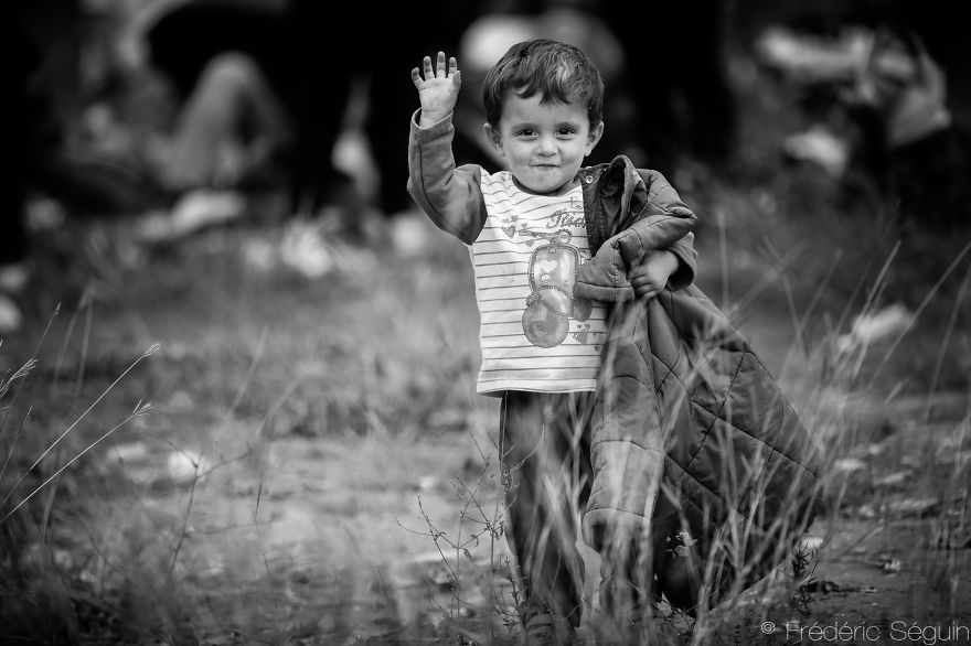 Smiles in Exile – Syrian Children Can Tell It All - Frédéric Séguin - MPC Journal