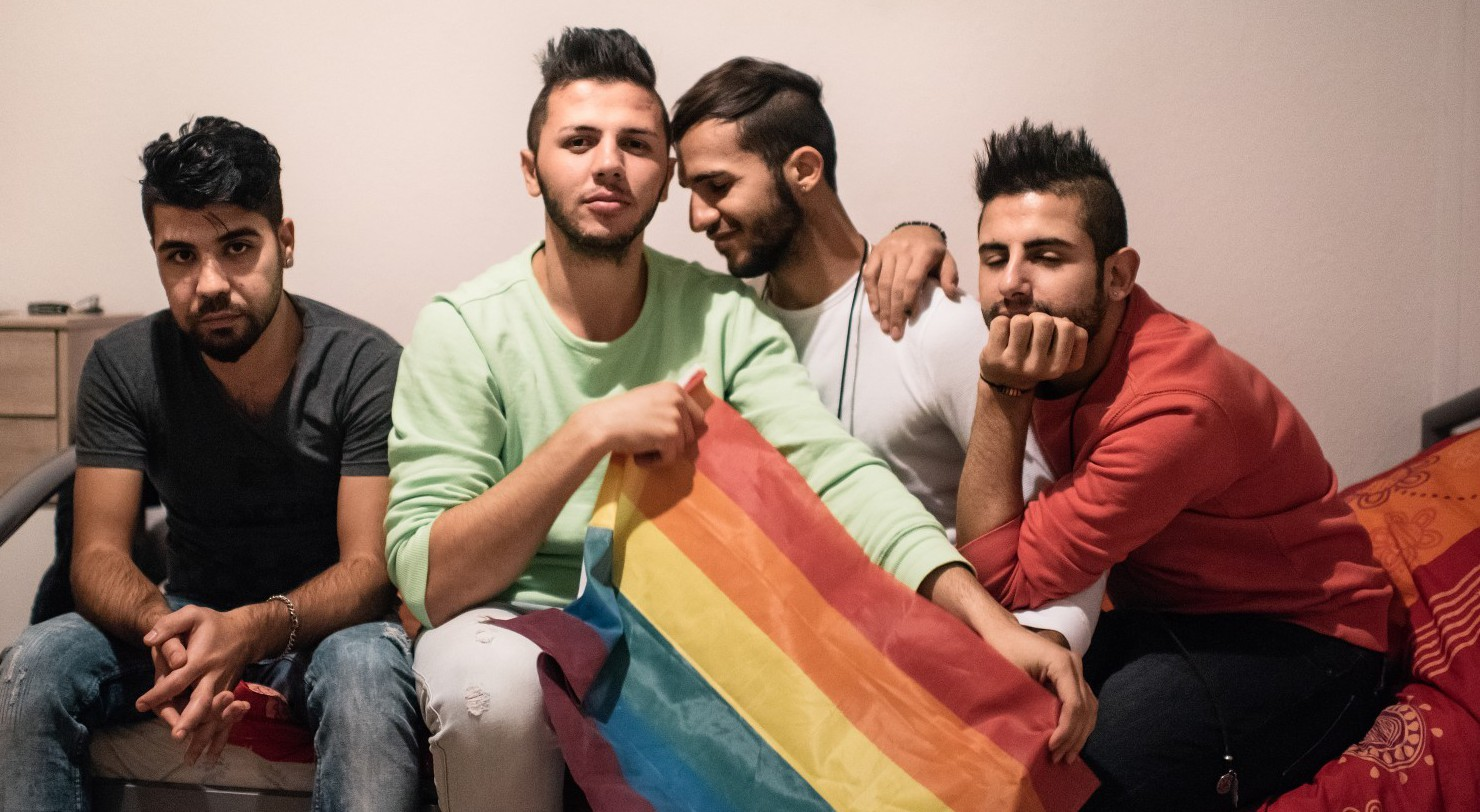 GaySyrianRefugeesDresden0051444907586 - Why Does Gay Sex Scare Modern Muslims? It Didn't in the Golden Age - MPC Journal