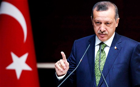 Recep Tayyip Erdogan's frequent outbursts against Israel have earned him a hero's status in the Arab street Photo- EPA