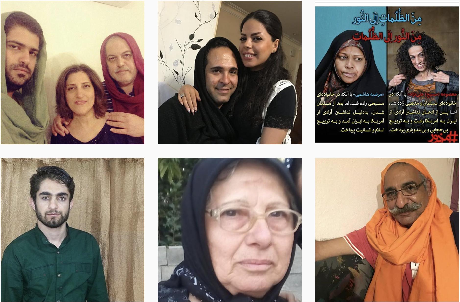 Men Wear Headscarf in Iran in Solidarity With Women, Men Wear Headscarf in Iran in Solidarity With Women