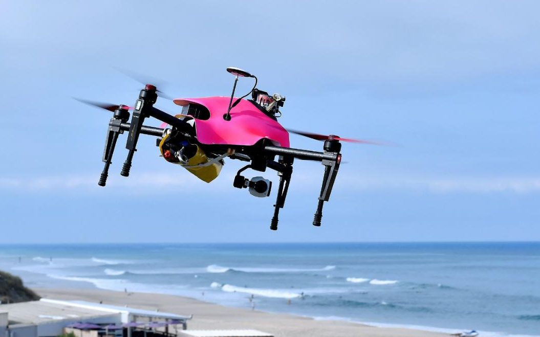 The group will be using drones to deliver the Bibles CREDIT: GEORGES GOBET/AFP/GETTY IMAGES