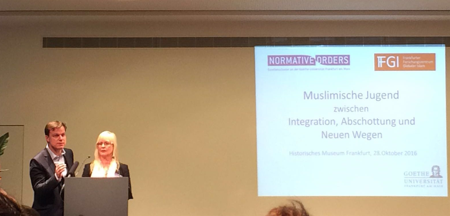 "The conference was organised by Frankfurt Research Centre for Global Islam at the Excellence Cluster ""Normative Orders"" at Goethe University under the auspices of the Hessian Ministry of Social Affairs and Integration in the Historical Museum in Frankfurt."