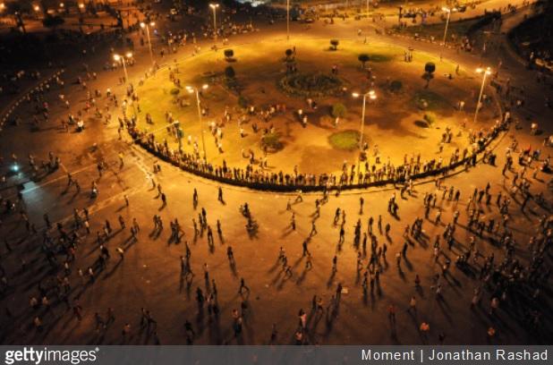 Egyptian President Promises Change to Ease Pressure