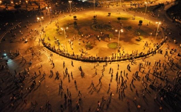 Egyptian President Promises Change to Ease Pressure, Egyptian President Promises Change to Ease Pressure