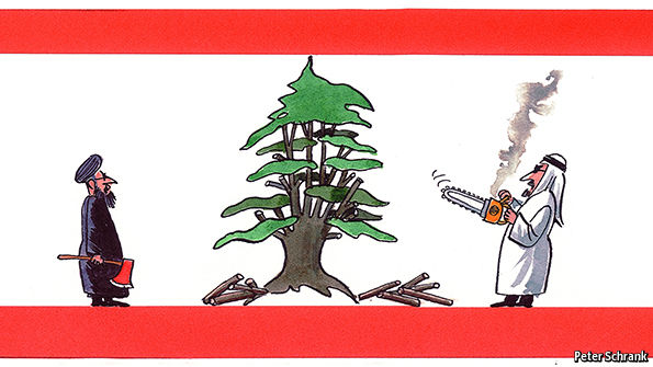 The state of Lebanon