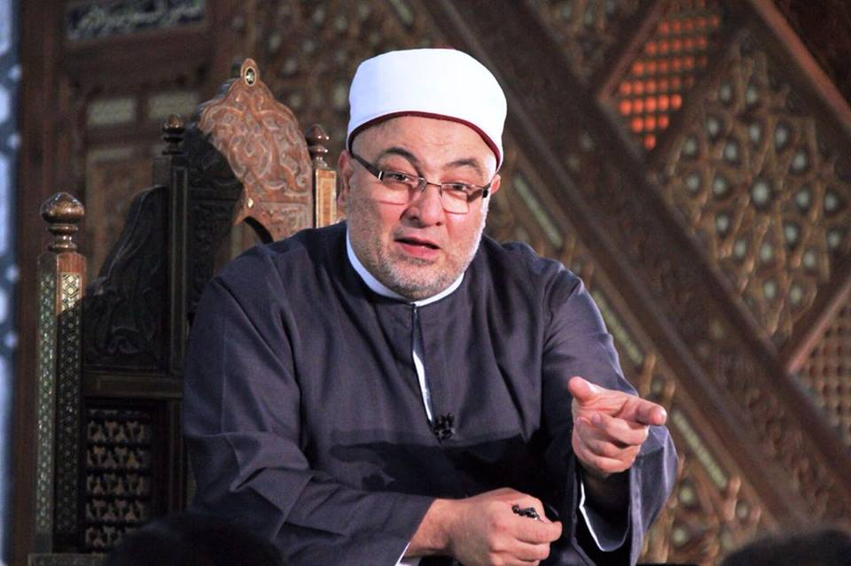 Khaled Al Gendy, a famous Islamic cleric and a member of the Supreme Council for Islamic Affairs