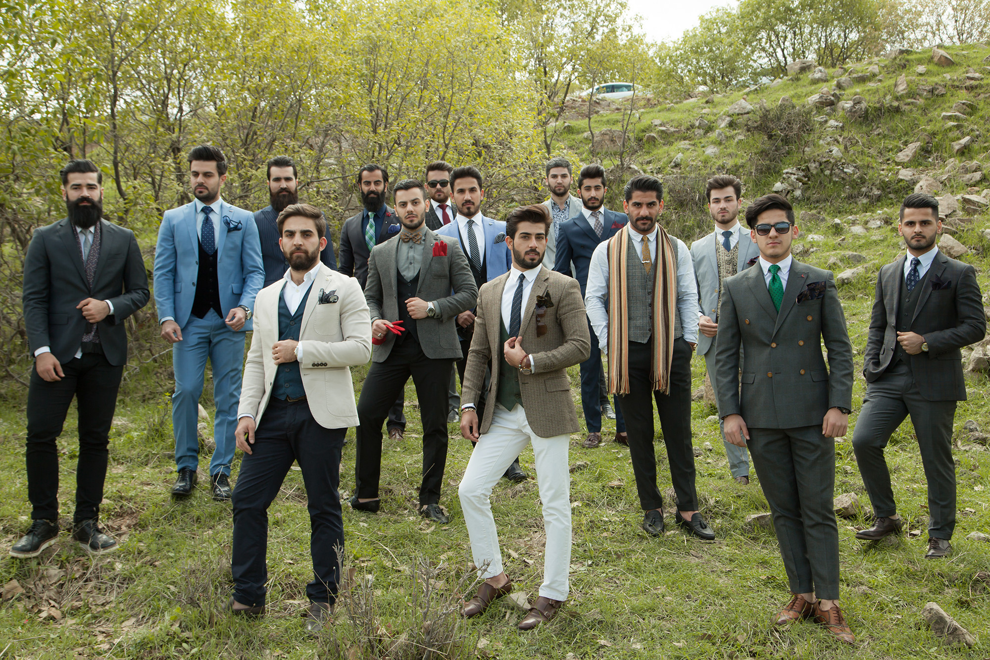 Erbil's Men's Fashion Club – © Photo: Mustafa Khayat