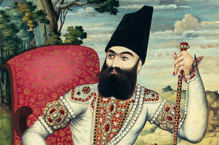 Iran's Crown Prince Abbas Mirza, c.1820. (Photo: Getty)
