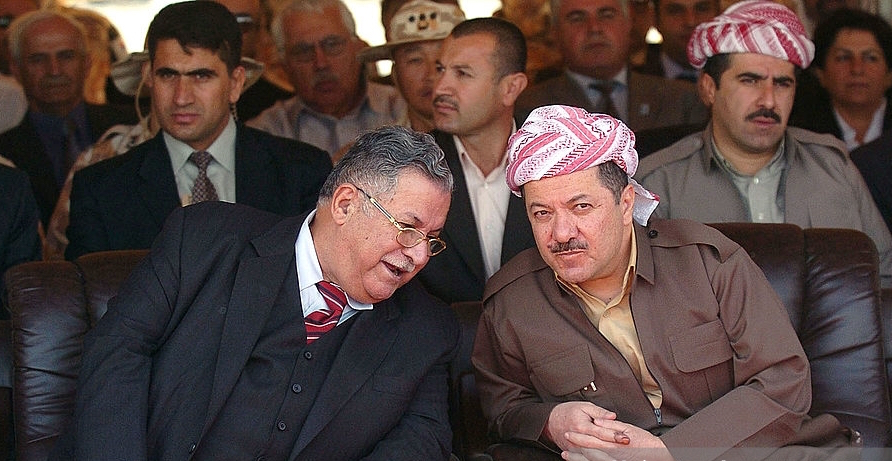MPC Journal - Jalal Talaban (left) and Mustafa Bargain (right) – © Photo: Scott Peterson/Getty Images - Who Rules Kurdistan Region in Iraq?