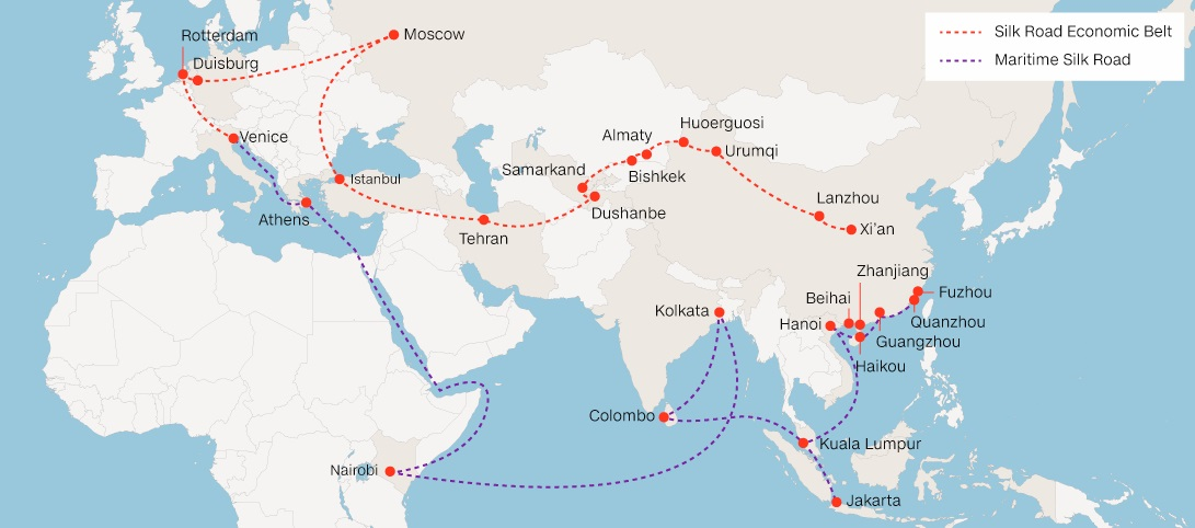 One Belt, One Road: A Plan For Chinese Dominance And Authoritarianismsm
