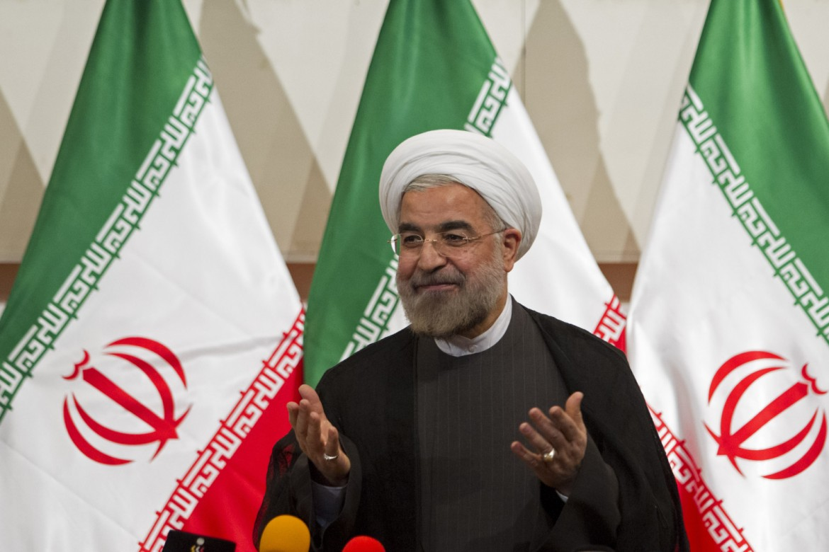 President Elect Hassan Rouhani Holds His First Press Conference
