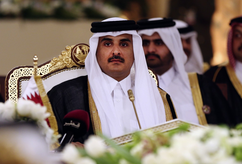 File image of Qatar's Emir Sheikh Tamim bin Hamad Al-Thani. (AP)