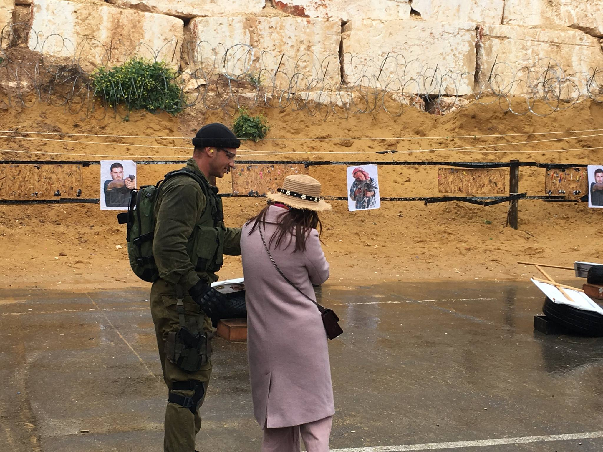 , Israeli Shooting Range Offers Tourists to shoot Palestinian-Looking Targets
