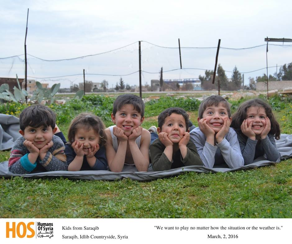 Syrian Children, Syrian Children: When Going to School Becomes a Dream
