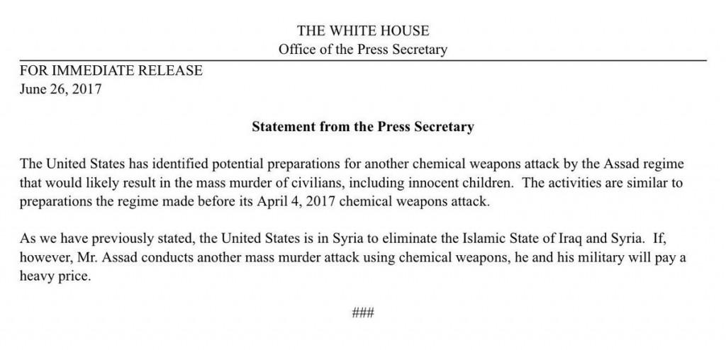 Syria - Would Bashar Al - Assad Use Chemical Weapons Again?, Syria – Would Bashar Al – Assad Use Chemical Weapons Again?